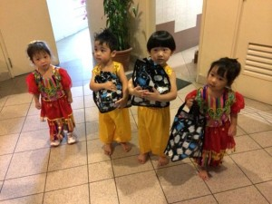 Dec: Coco's first school performance