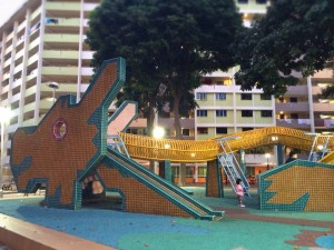 Introducing his daughters to his childhood haunt in Toa Payoh was a special experience for Dan