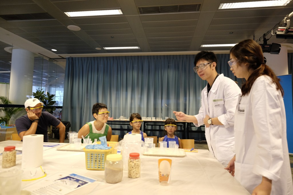 A family of budding scientists!