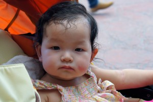 Thanks to her Sok Sok for capturing this nice portrait of her, albeit a little sweaty!