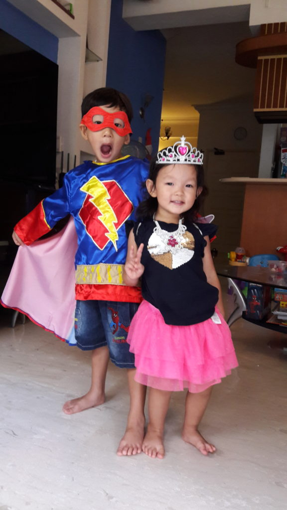 Superheroes and princesses...still the favourite!