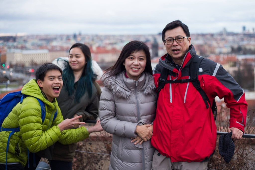 Our last family trip to Europe in 2016