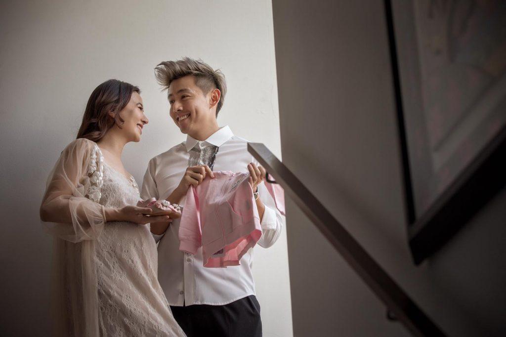 Cheryl & Roy Pregnancy